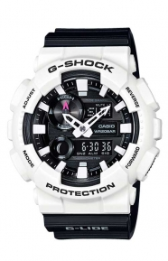 G-Shock Clothing, GAX-100B-7A G-Lide Series Watch - Black/White