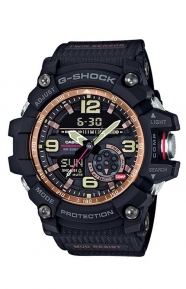 G-Shock Clothing, GG-1000RG-1A Rose Gold Series Watch - Black