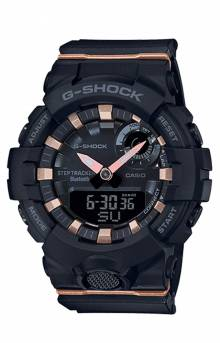 GMAB800-1A Watch - Black/Rose Gold