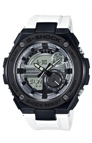 G-Shock Clothing, GST-210B-7A G-Steel Series Watch - White