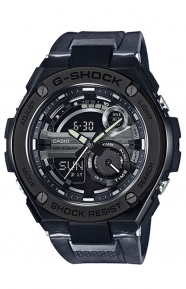 G-Shock Clothing, GST-210M-1A G-Steel Series - Black
