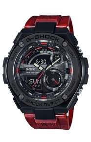 G-Shock Clothing, GST-210M-4A G-Steel Series - Red