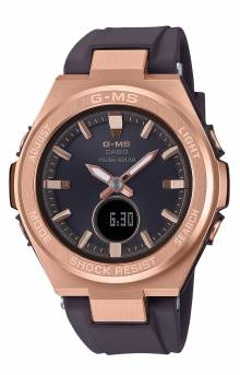 MSG-S200G-5A Watch - Black/Rose Gold