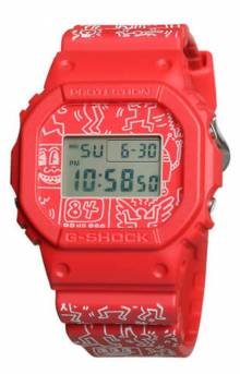DW56000Keith-4 Watch - Red