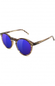 TimTim Premium Polarized Sunglasses - Honey/Blue Mirror