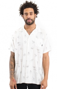 Good Worth Clothing, Lit Button-Up Shirt - White