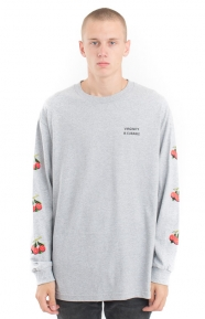 Virginity Is Curable L/S Shirt - Grey