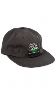 Anyway Strap-Back Hat - Charcoal