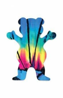 Blue Tie-Dye OG Bear Sticker