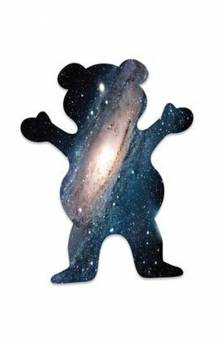 Galaxy OG Bear Sticker