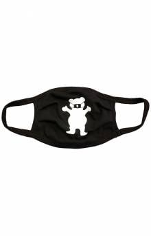 Grizzly OG Bear Face Mask - Black