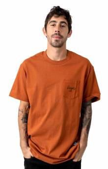 Grizzly Ridge Pocket T-Shirt - Sienna