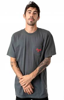 Grizzly Ridge Pocket T-Shirt - Tar