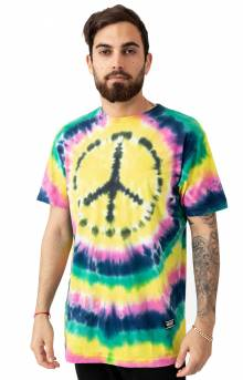 Home Grown Peace T-Shirt - Tie-Dye