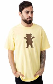 Grizzly, OG Bear T-Shirt - Banana/Brown