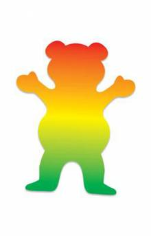 Rasta OG Bear Sticker
