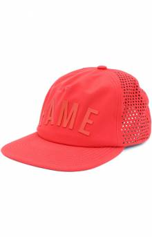 Arched 2.0 Strap-Back Hat - Red