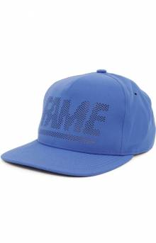 Fame Block Perf Snap-Back Hat - Neon Blue
