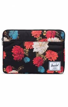 Anchor 13 Computer Sleeve - Vintage Floral Black
