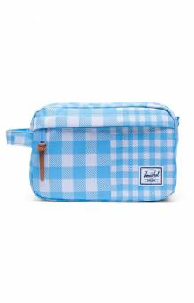 Chapter Travel Kit - Gingham/Alaskan Blue
