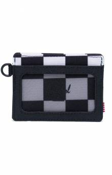 Charlie ID Wallet - Checker Black/White