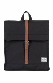 City Mid Backpack - Black/Tan