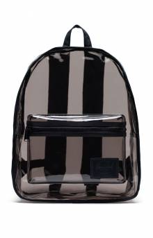 Classic Clear Backpack XL - Black/Smoke