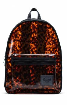 Classic Clear Backpack XL - Tortoise Shell