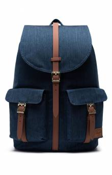 Dawson Backpack - Indigo Denim Crosshatch