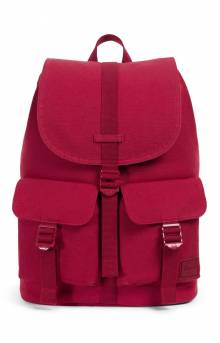 Dawson Canvas Backpack - Brick Red