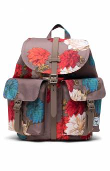 Dawson Small Backpack - Vintage Floral Pine Bark