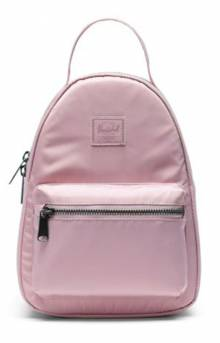 Flight Satin Nova Mini Backpack - Pale Mauve