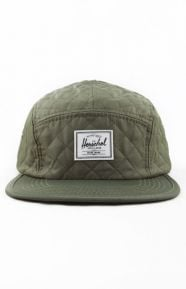 Glendale 5 Panel Hat - Army Quilt