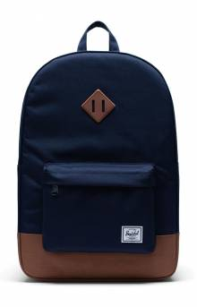Heritage Backpack - Peacoat/Saddle Brown