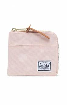 Johnny Wallet - Polka Cameo Rose