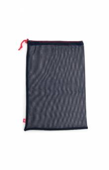 Laundry Bag - Mesh Navy/Red