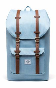 Little America Backpack - Light Denim Crosshatch