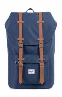 Little America Backpack - Navy/Tan