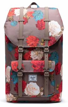Little America Backpack - Vintage Floral Pine Bark