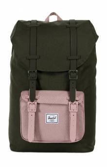 Little America Mid Backpack - Forest Night/Ash Rose