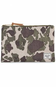 Network L Pouch - Frog Camo