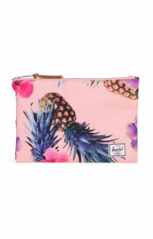 Network L Pouch - Peach Pineapple
