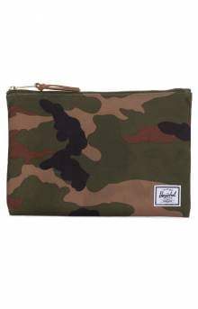 Network L Pouch - Woodland Camo