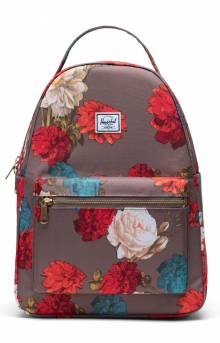Nova Mid Backpack - Vintage Floral Pine Bark