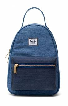 Nova Mini Backpack - Faded Denim/Indigo Denim