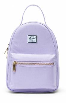 Nova Mini Backpack - Lavendula Crosshatch