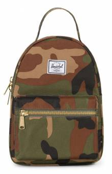 Nova Mini Backpack - Woodland Camo