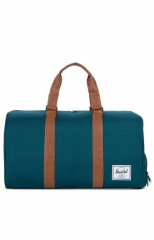 Novel Duffle Bag - Deep Teal/Tan