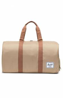 Novel Duffle Bag - Kelp/Saddle Brown