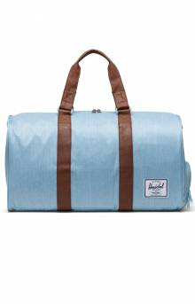 Novel Duffle Bag - Light Denim Crosshatch